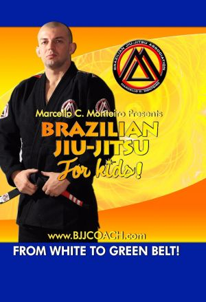 BJJ Curriculum for KIDS (White to Green Belt 4-Disc Set)