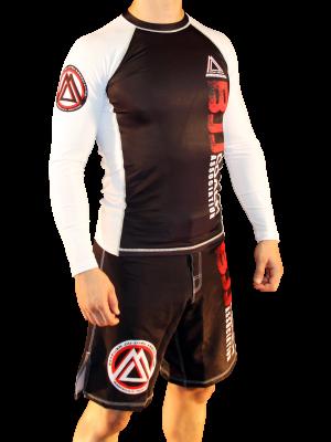 White/Black Official Assoc Rash Guard