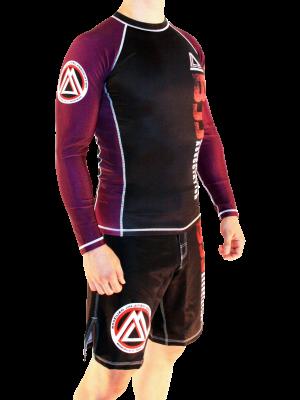 Purple/Black Official Assoc Rash Guard