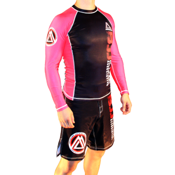 Pink/Black Official Assoc Rash Guard