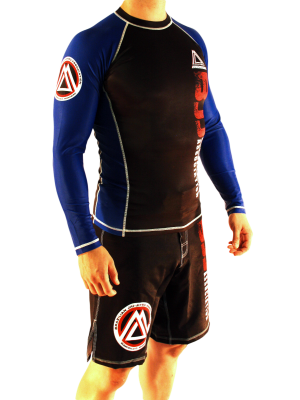 Blue/Black Official Assoc Rash Guard