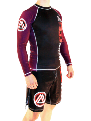 Purple/Black Official Assoc Rash Guard