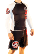 White/Black Official Assoc Rash Guard