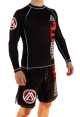 Black Official Assoc Rash Guard