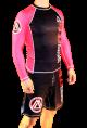Pink/Black Official Assoc Rash Guard